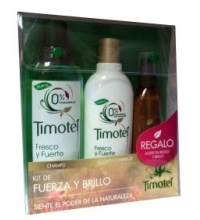 TIMOTEI PACK CHAMPU 400 ML + ACONDICIONADOR 300 ML + ACEITE 150 ML