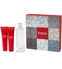 TOUS EDT 90 ML + BODY LOTION 100 ML + SHOWER GEL 100ML  SET