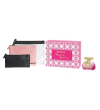 TOUS FLORAL TOUCH EDT 100 ML + 3 NECESERES SET REGALO