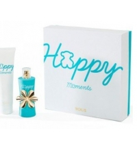 TOUS HAPPY MOMENTS EDT 50 ML + B/L 150 ML SET REGALO