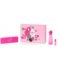 TOUS KIDS GIRL EDT 100 ML + MINIATURA 4 ML + ESTUCHE TOUS SET REGALO
