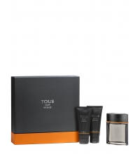 TOUS MAN INTENSE EDT 100 ML + A/S 100 ML + S/G 100 ML SET REGALO