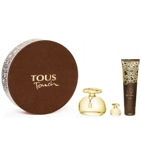 TOUS TOUCH EDT 100 ML VAPO + BODY LOCION 150ML + MINIATURA  4,5 ML