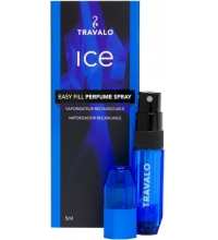 TRAVALO ICE BLUE 5 ML VAPORIZADOR RECARGABLE