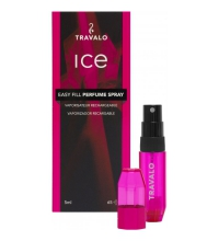 TRAVALO ICE PINK 5 ML VAPORIZADOR RECARGABLE
