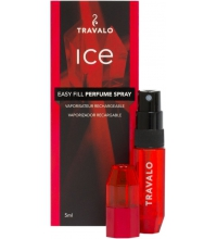 TRAVALO ICE RED 5 ML VAPORIZADOR RECARGABLE