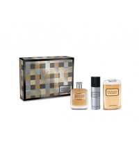TRUSSARDI RIFLESSO UOMO EDT 100 ML + S/G 200 ML +DEO 100 ML SET REGALO