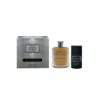 TRUSSARDI RIFLESSO UOMO EDT 100 ML  VAPORIZADOR + DESODORANTE 75ML TRAVEL SET