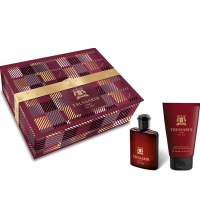 TRUSSARDI UOMO THE RED EDT 50 ML + SHOWER GEL 100 ML SET REGALO