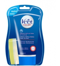VEET FOR MEN CREMA DEPILATORIA DE DUCHA PIEL NORMAL 150ML