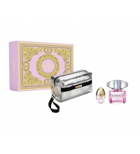 VERSACE BRIGHT CRYSTAL EDT 90 ML VP + 10ML VP + NECESER SET REGALO