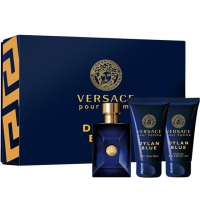 VERSACE DYLAN BLUE EDT 50ML + SHOWER GEL 50 ML + A/S BALM 50 ML SET REGALO