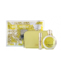VERSACE EROS FEMME EDT 100 ML VAPO + EDT 10ML + NECESER SET REGALO