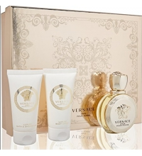 VERSACE EROS FEMME EDP 50 ML VAPO + BODY LOTION 50ML + SHOWER GEL 50ML SET REGALO