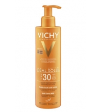 VICHY IDEAL SOLEIL LECHE BRONCEADORA ANTI-ARENA SPF 30 200 ML
