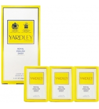 YARDLEY ROYAL ENGLISH DAISY 3 JABONES DE 100 GR SET