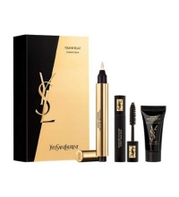 YVES SAINT LAURENT TOUCHE ECLAT N. 1 + MINI MASCARA YSL + INST. MOIST GLOW 5 ML  SET REGALO