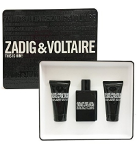 ZADIG & VOLTAIRE THIS IS HIM EDT 50 ML + 2 x SHOWER GEL 50 ML SET REGALO