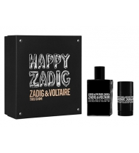 ZADIG & VOLTAIRE THIS IS HIM EDT 100 ML + DESODORANTE STICK 75 GR SET REGALO