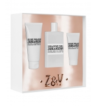ZADIG & VOLTAIRE THIS IS HER EDP 100 ML + B/L 100 ML + GEL 50 ML SET REGALO