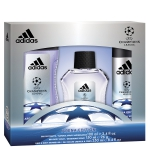 ADIDAS UEFA 3 EDT 100 ML + DEO 150 ML + S/GEL 250 ML SET REGALO