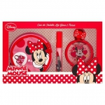 DISNEY MINNIE MOUSE EDT 50 ML + LIP GLOSS + NECESER/MONEDERO SET REGALO