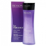 REVLON BE FABULOUS DAILY CARE FINE HAIR CREAM SHAMPOO 250 ML