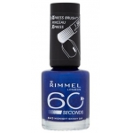 RIMMEL LONDON 60 SECOND MIDNIGHT SKINNY DIP 843 8ML