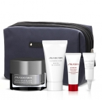 SHISEIDO MEN TOTAL REVITALIZER AGE DEFENSE/ANTI FATIGUE CREAM 50 ML SET REGALO NECESER