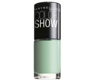 MAYBELLINE ESMALTE DE UÑAS COLOR SHOW 214 GREEN WITH ENVY 7ML