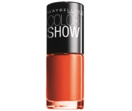 MAYBELLINE ESMALTE DE UÑAS COLOR SHOW 341 ORANGE ATTACK 7ML