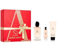 ARMANI SI EDP 50 ML + EDP 15 ML + GEL DUCHA 75 ML SET REGALO